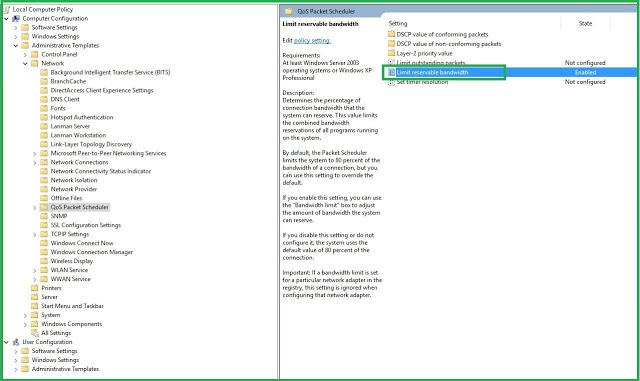 How to SpeedUp Internet Connection on Windows 7/ 8/ 10
