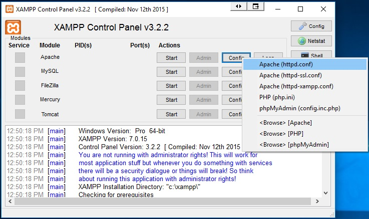 How to fix and solve XAMPP apache server problem - Tech all tips